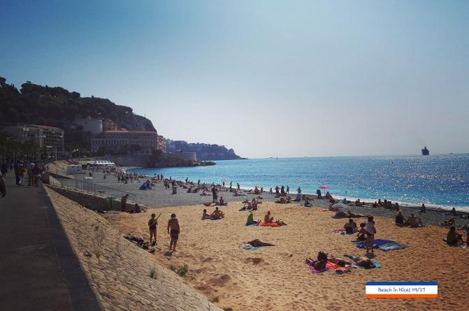 Nice beach, Sept' 2017